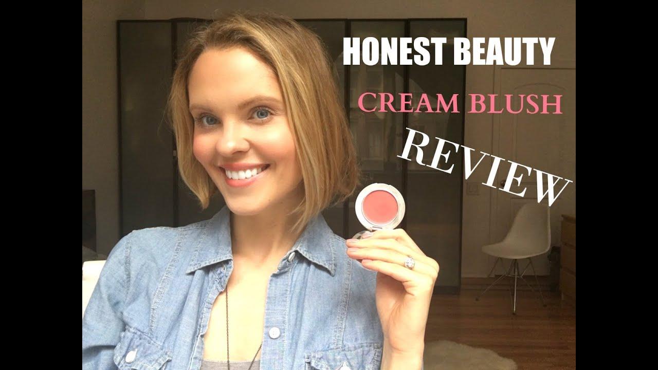 Honest Beauty Creme Blush Review | Truly Flirting | Jo ...