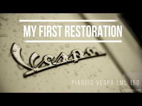 Vespa LML 150 1990 Restoration