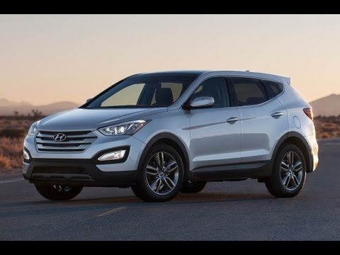 2013 Hyundai Sante Fe Sport 2  Cylinder Turbo Review