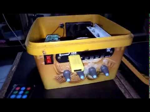 KEREAKTIF!!! mini amplifier rakitan 120 watt + modul mp3 bluetooth untuk ruangan