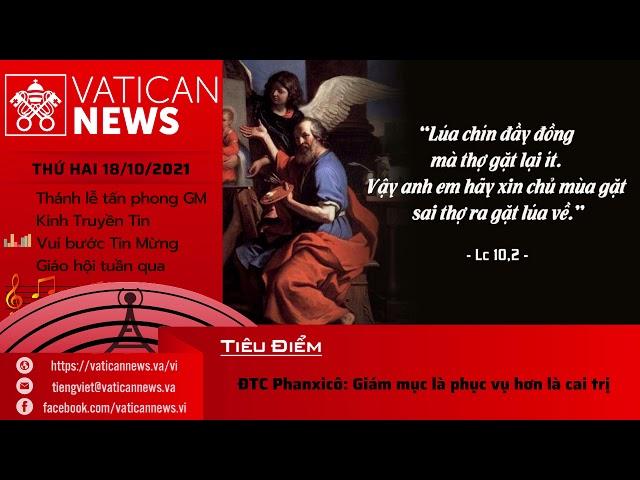 Radio Thứ Hai 18/10/2021 - Vatican News Tiếng Việt