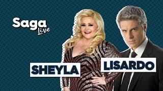 #SagaLive Sheyla y Lisardo con Adela Micha. thumbnail