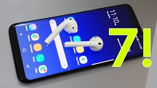 Top 7 SAMSUNG GALAXY S8 S8 Plus Features