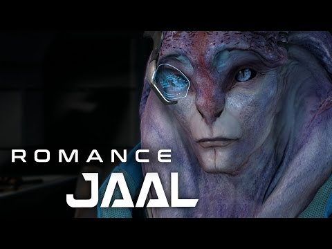 "Mass Effect Andromeda: Jaal Romance #2 - ""You're making me blush"""
