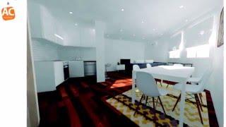 Proyecto de diseño en 3D para una reforma de piso en Palma de Mallorca