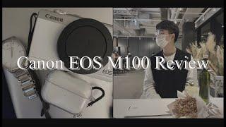 캐논 EOS M100 리뷰 30만원대 카메라 추천 최고…