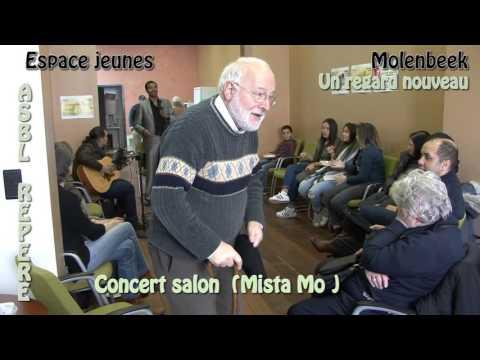 Espace jeunes, Concert salon ( Mista Mo ) A.S.B.L Repère 2016