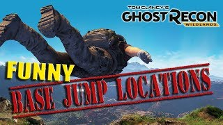Best Base Jumping Locations In Ghost Recon Wildlands