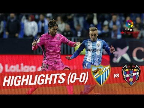 Resumen de Málaga CF vs Levante UD (0-0)