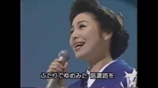 1964年青山和子。作詞大矢弘子、作曲土田啓四郎。 この曲が主題歌だったわけではありませんが、同じタイトルのテレビドラマ(主演:大空真弓)と...
