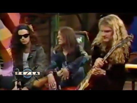 TESLA  - Hangin W/ Mtv Interview (1992)