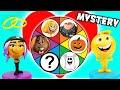 watch he video of Emoji Movie Spin The Wheel Mystery Game! Gene & Jailbreak Wedding Clue Episode with Smiler & Gru!