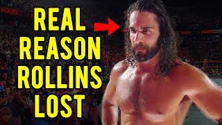 The Real Reasons Why Seth Rollins Lost The WWE Intercontinental Championship