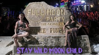 Learn about The Famous Full Moon Party and Secret Beach!!! - Koh Phangan, Thailand