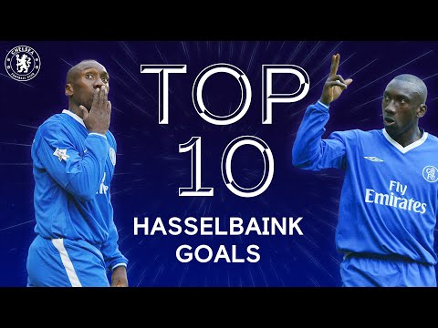 Top 10 Iconic Jimmy Floyd Hasselbaink Goals | Chelsea Tops