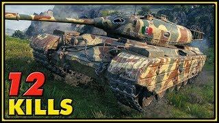 Progetto 46 - 12 Kills - World of Tanks Gameplay