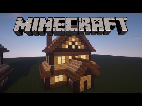 Minecraft: Ahşap Ev Yapımı
