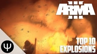 ARMA 3: Altis Life — Top 10 Explosions!