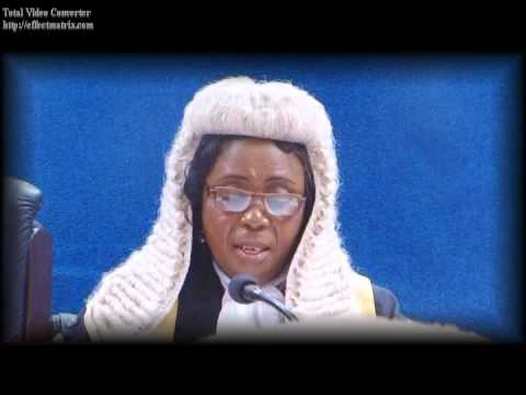Valedictory Service for Hon. Justice Shogbolahan 2