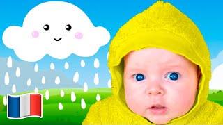 Cinq Enfants Pluie pluie vas-t'en Rimes pour les enfants