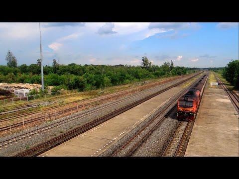 รถไฟไทย # ขบวนรถธรรมดาที่ 211 กรุงเทพฯ - ตะพานหิน  State Railway of Thailand