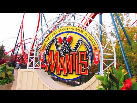 Last Ride Ever On Mantis at Cedar Point