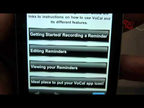 Vocal for iPhone