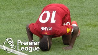 Sadio Mane breaks through for Liverpool against Aston Villa   Premier League   NBC Sports