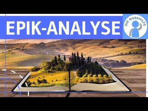 Epik-Analyse: Interpretation literarischer (epischer) Texte - Vorgehensweise, Aufbau & Tipps