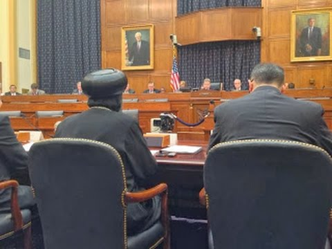 HG Bishop Angaelos Testimony at US Congressional Hearing re Human Rights Abuses in Egypt