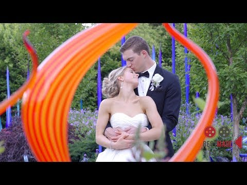 Nelson Wedding - Chihuly Garden and Glass in Seattle, Wa