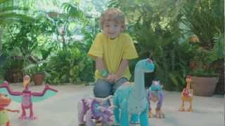 Dinosaur Train Extreme InterAction Arnie Argentinosaurus --30 sec commercial