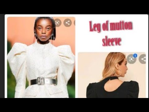 Download How to cut and sew a leg of Mutton Sleeve, Puffy sleeve, Statement Sleeve, Exaggerated Sleeve
