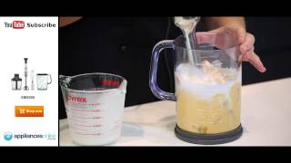 Make A Simple Thai Pumpkin Soup Using The Sunbeam Stick Blender Sm9000 - Appliances Online