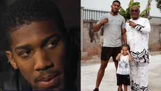 ANTHONY JOSHUA DECLARES HOW PROUD HE IS OF HIS SON AFTER WHAT HE DID IN SAGAMU NIGERIA !