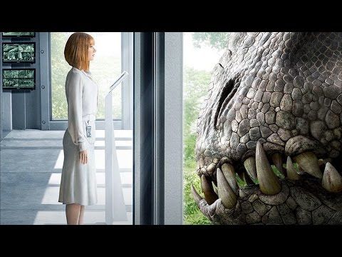 ►Jurassic World - Radioactive In The Dark