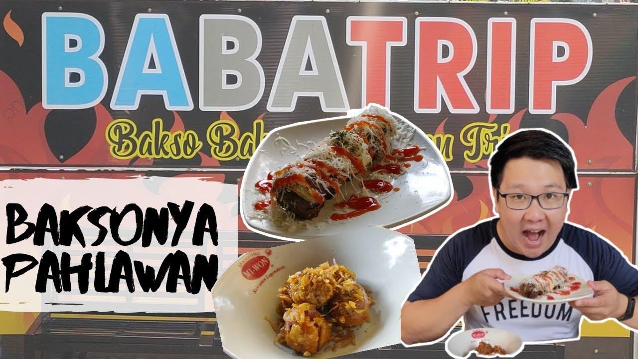 Bakso Bakar Babatrip Malang Bakso Bakar Terendess Di Kota Malang 3 Youtube