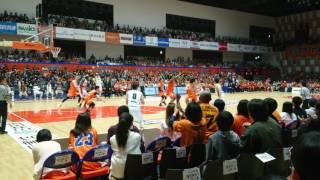 5月6日(土)に行われたアルビレックス新潟対横浜ビーコルセアーズの試合...
