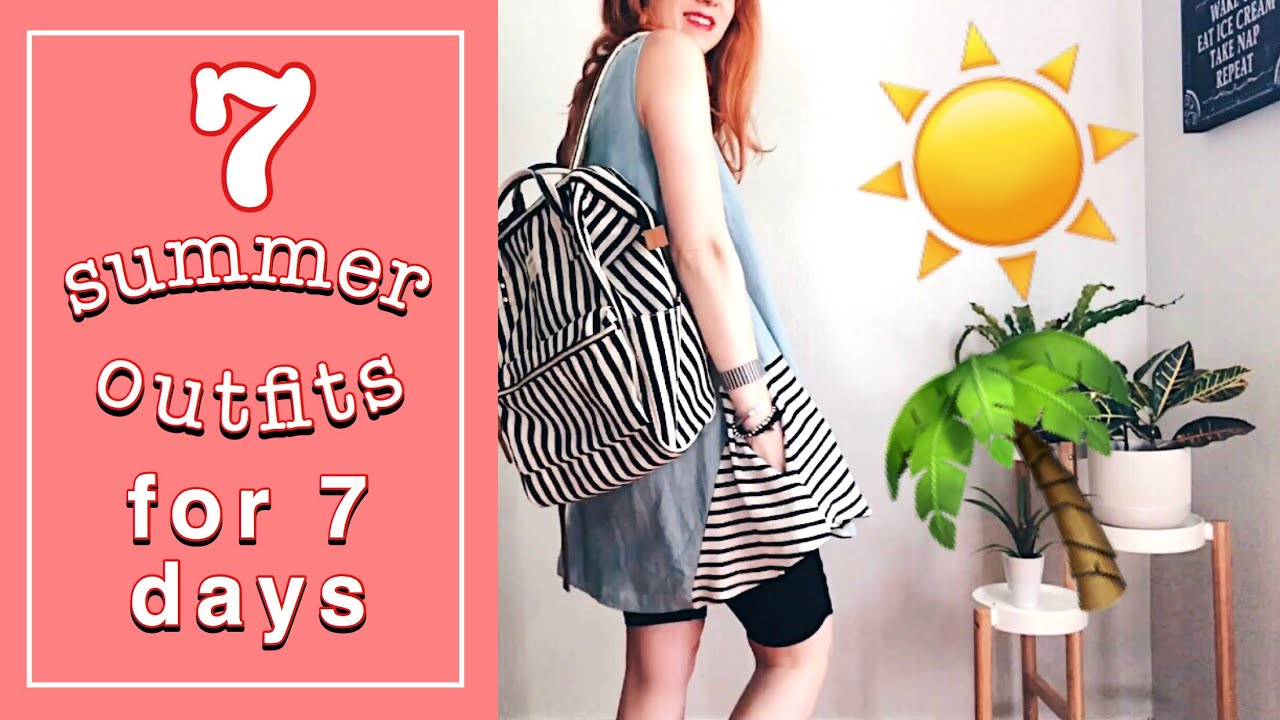 7 Summer Outfits for 7 Days | thrifted, ethical & independent style 9