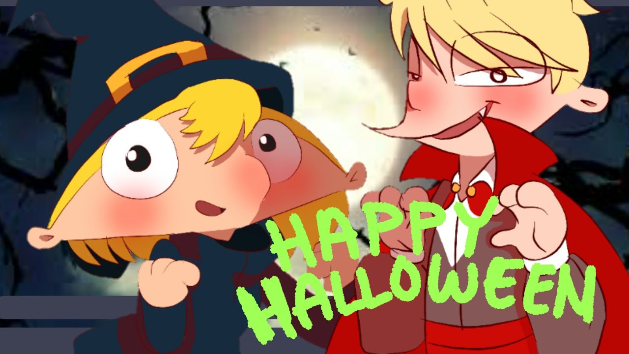 happy halloween meme ver. [hey arnold genderbent] - youtube