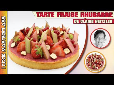 ✅-tarte-fraise-rhubarbe-de-claire-heitzler-:-l'association-parfaite-entre-l'acidité-et-le-sucré-!