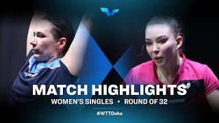 Polina Mikhailova vs Mariia Tailakova | WTT Contender Doha 2021 | Women's Singles | R32 Highlights