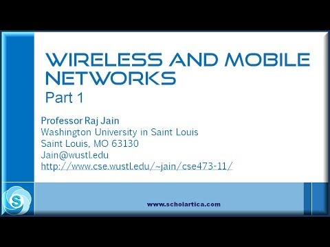 Wireless & Mobile Networks Part 1 (CDMA)