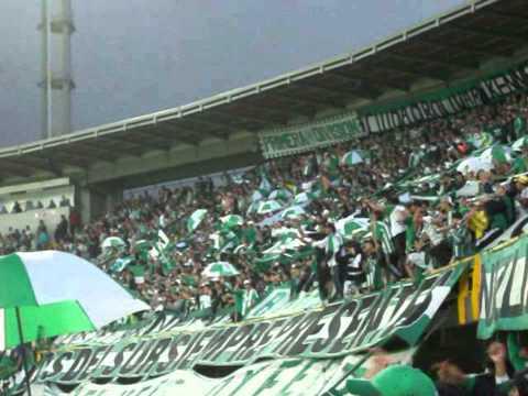 """Cánticos LOS DEL SUR BOGOTA (Santa Fe 2 - Nacional 2 / 09-02-13 Estadio """"El Campin"""")"""