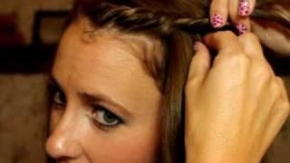 Short Hair Hippie Bang Hair Twist Youtube