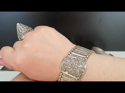 Мои серебряные браслеты. Часть 3 - я. ( видео по запросу )
