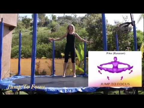 Jump to Focus Trampoline Workout