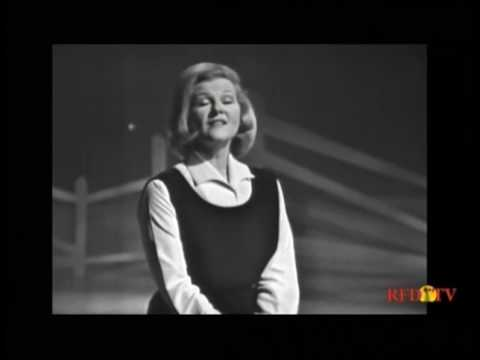 Jo Stafford, Jimmy Dean--He's Gone Away, New River Train, 1963 TV
