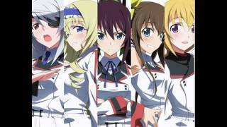 Infinite Stratos OP FULL - Straight Jet (LYRICS)
