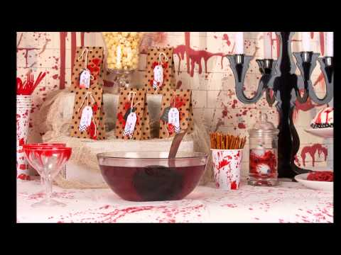 Bloody crime idee n voor halloween decoratie youtube - Decoratie voor halloween is jezelf ...